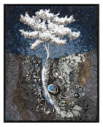 Stone Tapestries - Textiles - Grace by Lorraine Roy