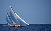 Log Photos - Grace Under Sail by Skip Willits