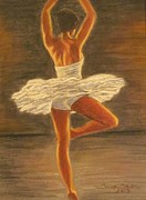 Sacred Pastels Originals - Graceful Ballet by Tonya Butcher
