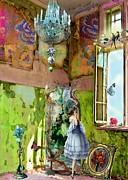 Grace's Window Print by Laura Botsford