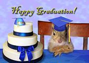 Jeanette K - Graduation Squirrel