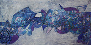 Bradley Carter - Graffiti Abstract 1