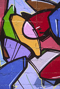 Deborah Waters - Graffiti art abstract