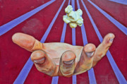 Tagging Posters - Graffiti Art - The Hand Poster by Christine Till