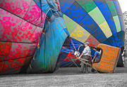 Prepare Prints - Graffiti Balloons Print by Betsy A Cutler East Coast Barrier Islands