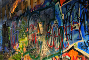Philadelphia Photo Prints - Graffiti Blues Print by Terry Rowe