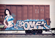 Train Art - Graffiti - Brittany by Graffiti Girl