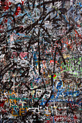 Spraypaint Art Prints - Graffiti chaos Print by Ron Sumners