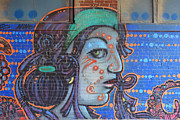 Lisa Plymell - Graffiti Girl I