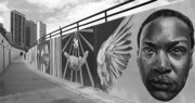 Black Man Art - Graffiti in the Windy City by Christine Till