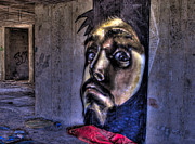 Portraits Art - Graffiti of a man  by Dan Yeger