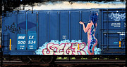 Nude Girl Art - Graffiti - Smooth As Silk by Graffiti Girl