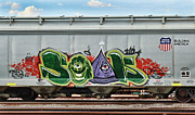 Train Art - Graffiti - SOAK by Graffiti Girl