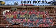 Chuck Kuhn - Graffiti VII