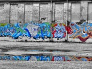 Dan Sproul - Graffiti Work Downtown...