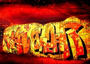 Photo Images Mixed Media - Graffity by Gabi Siebenhuehner