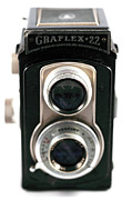 Camera Lens Framed Prints - Graflex 22 Full View Framed Print by John Rizzuto