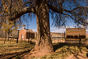 Butch Cassidy Photo Prints - Grafton Ghost Town in the fall Rockville Utah Print by Robert Ford