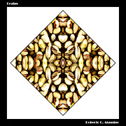 Roberto Alamino Digital Art Prints - Grains Print by Roberto Alamino