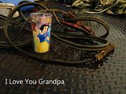 Gramps Cup Print by Joe Jake Pratt