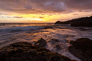 Canary Yellow Prints - Gran Canaria Sunrise Print by Wolfgang Woerndl