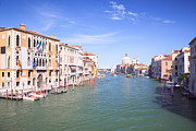 Vaporetto Framed Prints - Grand canal from Accademia bridge Framed Print by Matteo Colombo