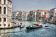 2009 Photo Prints - Grand Canal in Venice Print by Gabriela Insuratelu