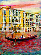 Steven Boone Framed Prints - Grand Canal Framed Print by Steven Boone