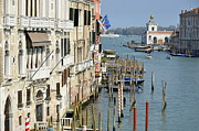 Post-human Framed Prints - Grand Canal view from Academia Bridge Framed Print by Sami Sarkis