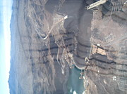 Helicopter Art - Grand Canyon - 121211 by DC Photographer