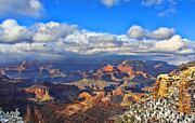 Squall Prints - Grand Canyon 3996 Print by Jack Schultz