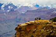 Terry Garvin Prints - Grand Canyon Clearing Storm Print by Terry Garvin