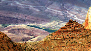 Gilbert Artiaga Metal Prints - Grand Canyon Colorado River   Metal Print by Gilbert Artiaga