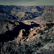 Beauty In Nature Art - Grand Canyon Eastern Sunset View Square Lomo by Shawn OBrien