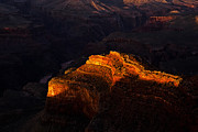 South Rim Framed Prints - Grand Canyon Evening Framed Print by Andrew Soundarajan