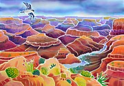 National Park Paintings - Grand Canyon by Harriet Peck Taylor