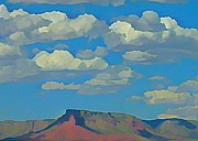 Grand Canyon Horizon Print by John Malone