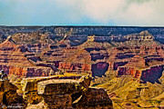 Grand Canyon Mather Viewpoint Print by Nadine and Bob Johnston