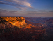 South Rim Framed Prints - Grand Canyon Morning Framed Print by Andrew Soundarajan