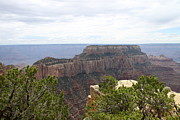 Walhalla Framed Prints - Grand Canyon North Rim Cape Final  Framed Print by Christiane Schulze