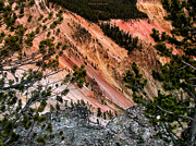 Super Volcano Prints - Grand Canyon Of Yellowstone 6 Print by Thomas Woolworth