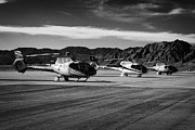 Airport Terminal Posters - grand canyon sightseeing tours helicopters at boulder city airport terminal Nevada USA Poster by Joe Fox