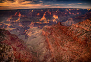 James Bethanis - Grand Canyon Sunset