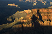 Weathering Prints - Grand Canyon Symphony Of Light And Shadow Print by Bob Christopher