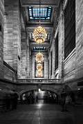 Buidling Metal Prints - Grand Central Station III ck Metal Print by Hannes Cmarits
