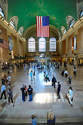 On The Move Prints - Grand Central Station New York city Print by Amy Cicconi