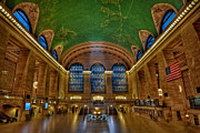 National Landmark Posters - Grand Central Station Poster by Susan Candelario