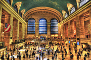 Iconic Places Prints - Grand Central Terminal Print by Randy Aveille