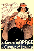 Antique Digital Art Posters - Grand Garage Poster by Gary Grayson