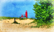 Joan Bertucci - Grand Haven Lighthouse